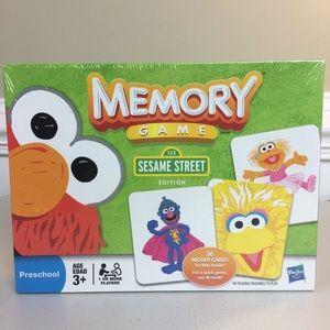 Hasbro Sesame Street memory game 3+